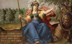 Minerva als Friedensbringerin (Werkstatt)