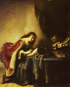 Minerva reading