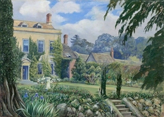 Mount House and Garden, Alderley, Gloucestershire, England