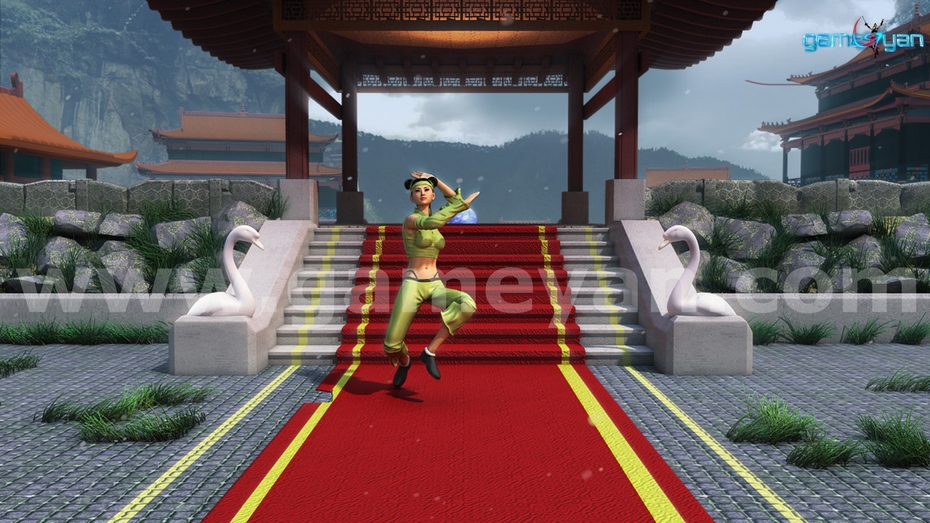 Nikki – 3D Kung-Fu Female Fighter Realistic Character Model By Game Development Companies