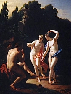 Nymphs dancing