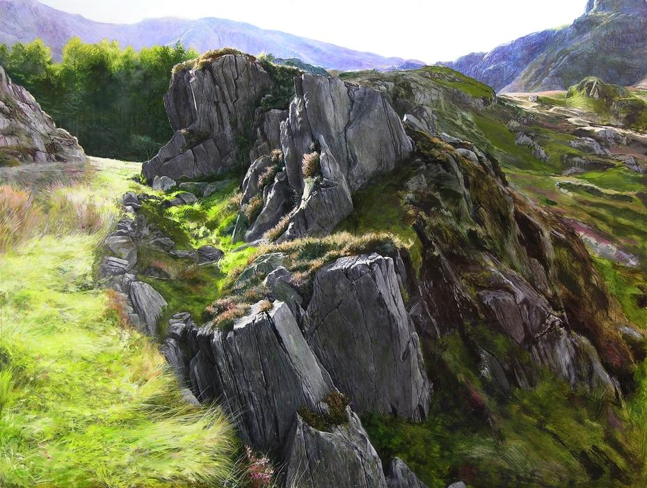 Outcrop, Snowdonia