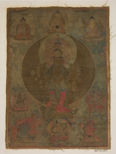 Panel from Painting of a Thousand-Armed Guanyin