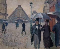 Paris Street. Raining (study)