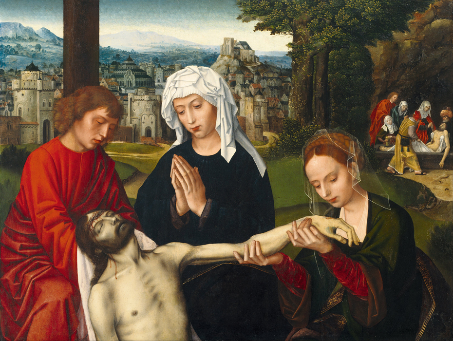 Pietà at the Foot of the Cross