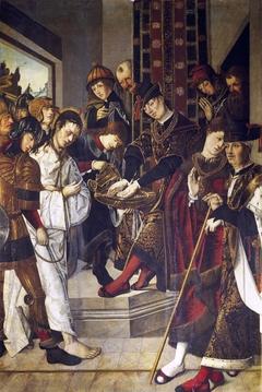 Pontius Pilate Washing his Hands