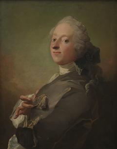 Portræt af kgl. hofapoteker Johann Gottfried Becker