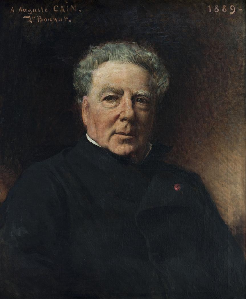 Portrait d'Auguste Cain