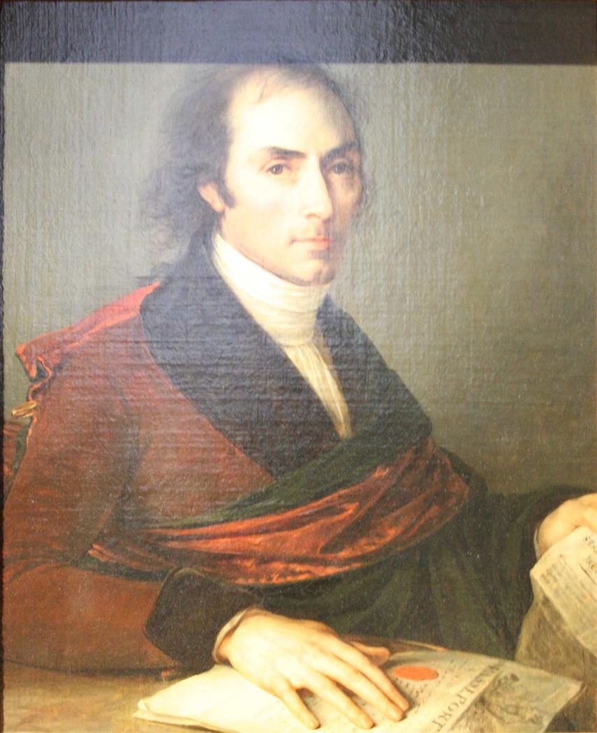 Portrait de l'armateur François Bruguière