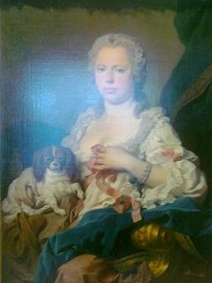 Portrait de lady Anne Clifford, comtesse Mahony