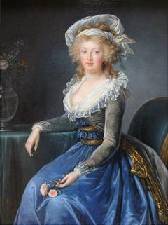 Portrait de Marie-Thérèse, princesse des Deux-Siciles, impératrice d'Allemagne