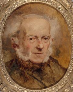 Portrait du peintre Jean-Baptiste Isabey, père de l'artiste
