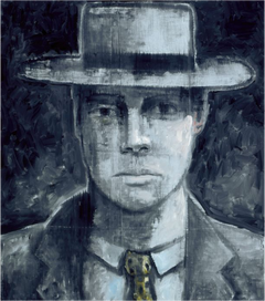 Portrait in Blue or Blue Portrait