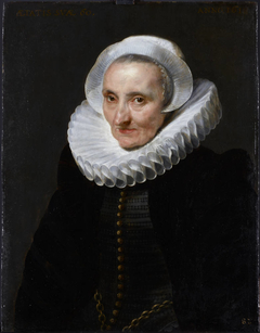 Portrait of a 60-year-old Woman