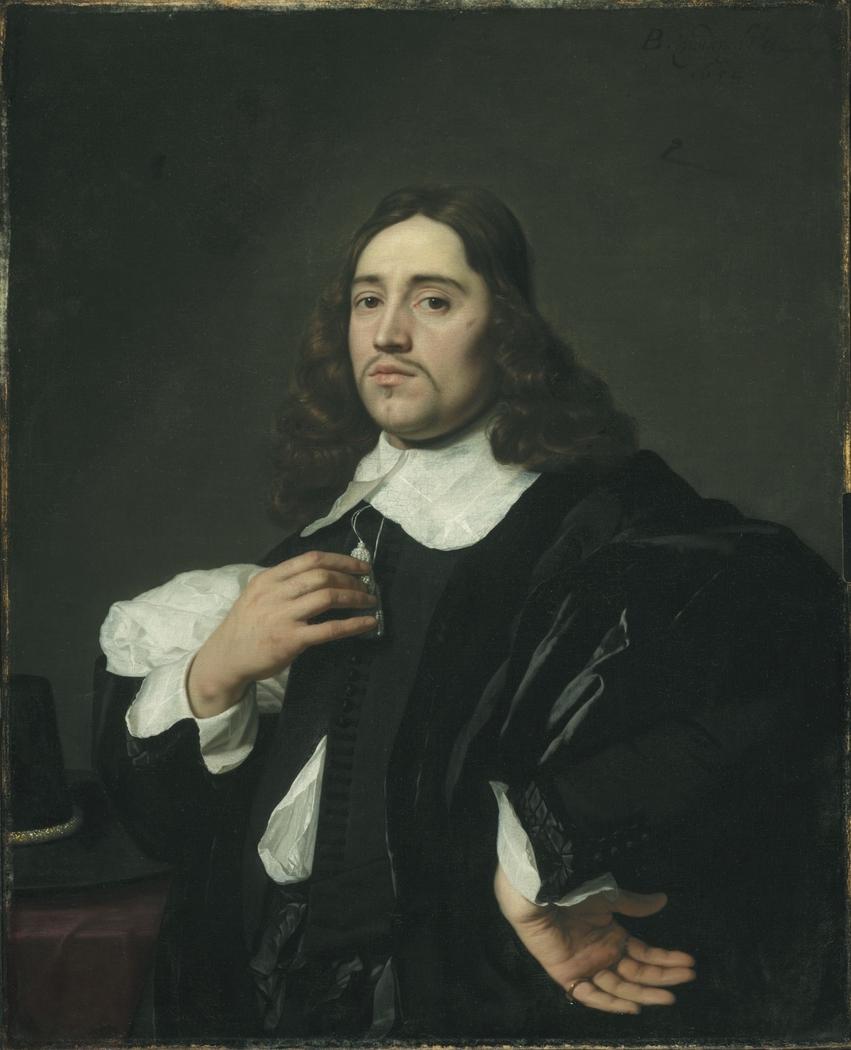 Portrait of a Gentleman (hand on hip)