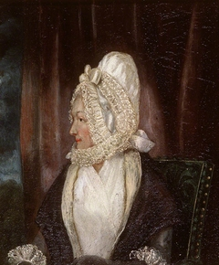 Portrait of a Lady in a White Bonnet