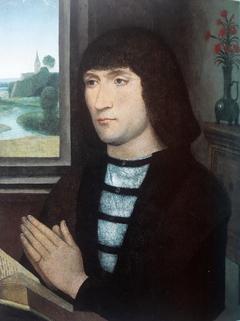 Portrait of a Man in Prayer