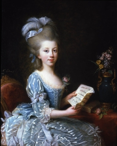 Portrait of a young musician