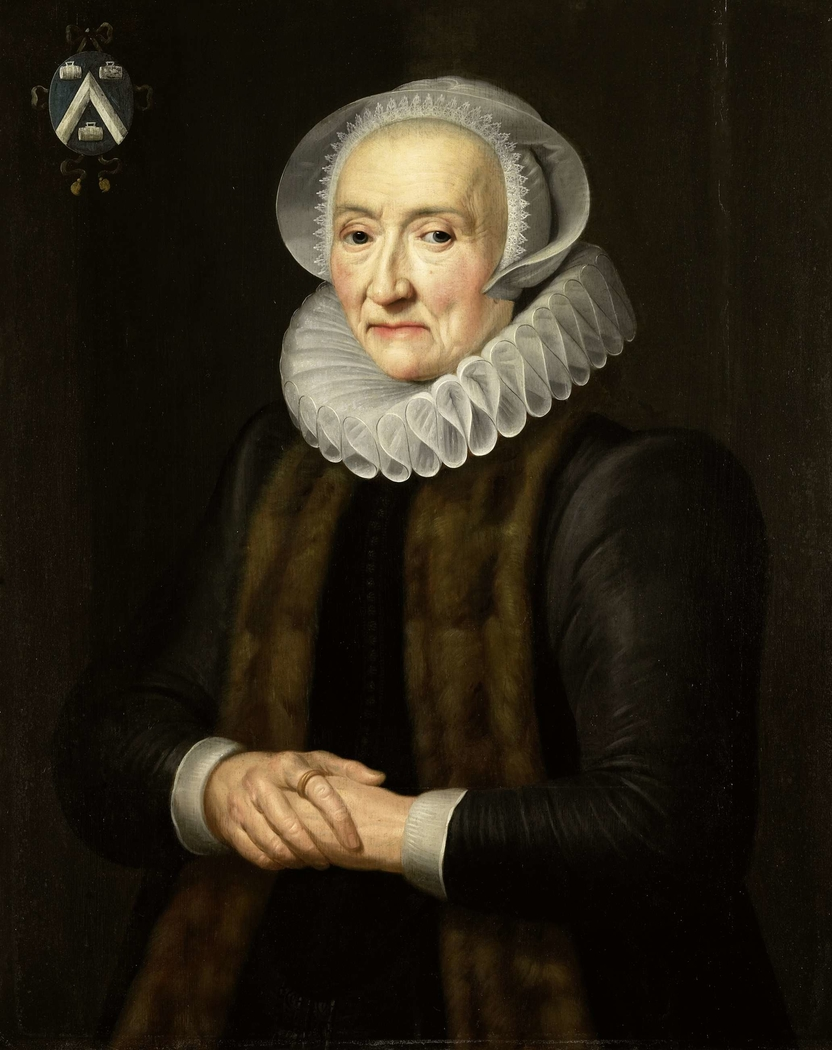 Portrait of Alid van der Laen, Wife of Maerten Ruychaver