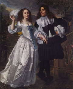 Portrait of an unknown couple