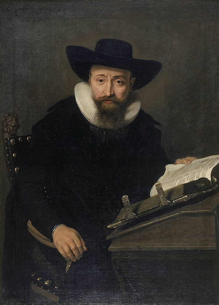 Portrait of an unknown man, probably a Protestant minister