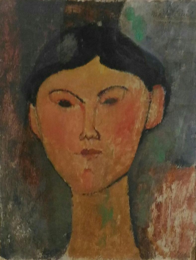 Portrait of Beatrice Hastings