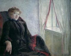 Portrait of Cecilie Thoresen Krog