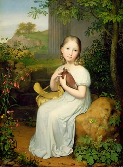 Portrait of Countess Louise Bose as a Child