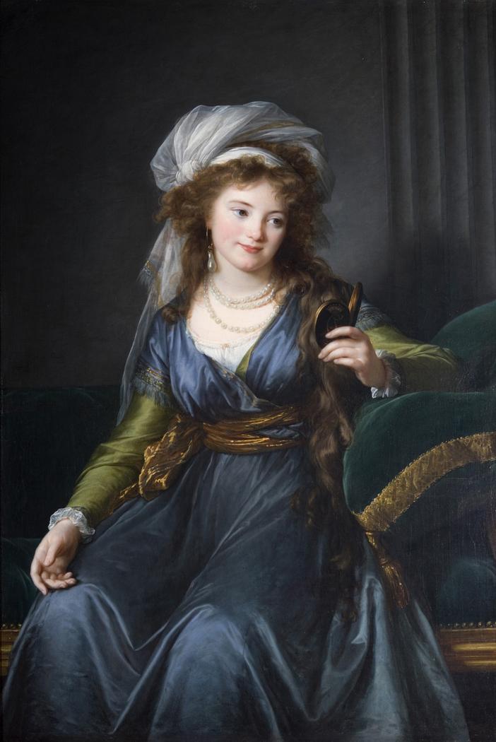 Portrait of countess Yekaterina Skavronskaya