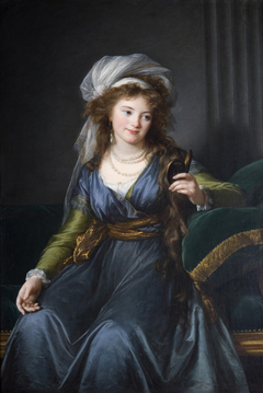 Portrait of countess Yekaterina Skavronskaya