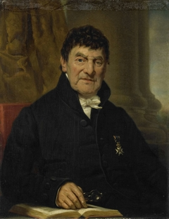 Portrait of Dr. Cornelis Hendrik à Roy, Physician and Biographer