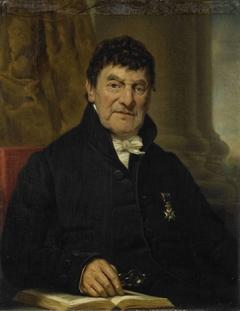 Portrait of Dr. Cornelis Hendrik à Roy, Physician and Biographer