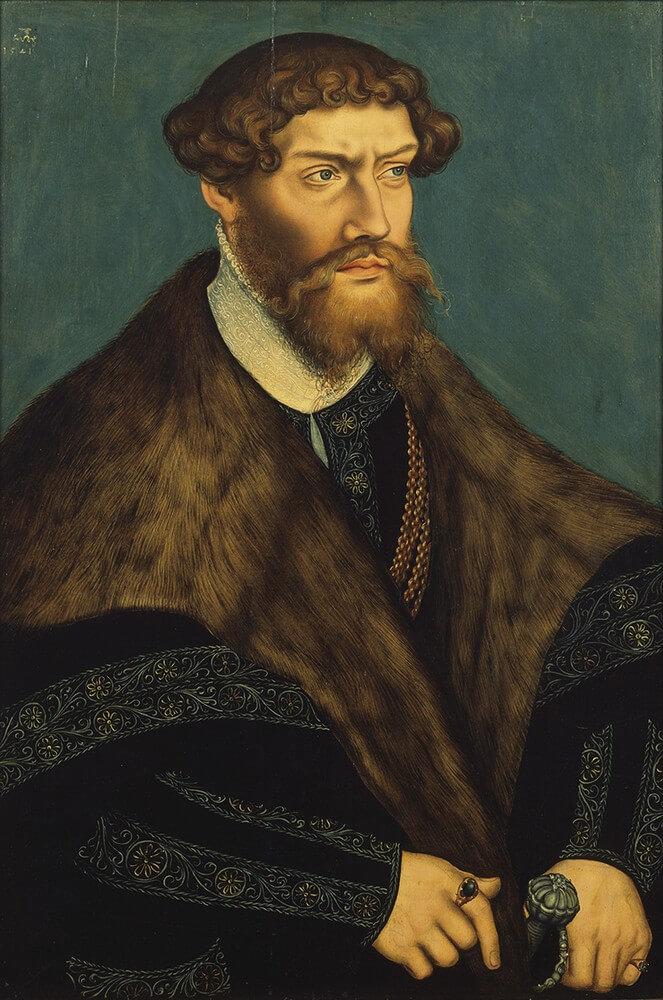 Portrait of Duke Philip I of Pomerania.