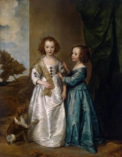 Portrait of Elizabeth and Philadelphia Wharton