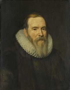 Portrait of Johan van Oldenbarnevelt, Advocate of the United-Provinces