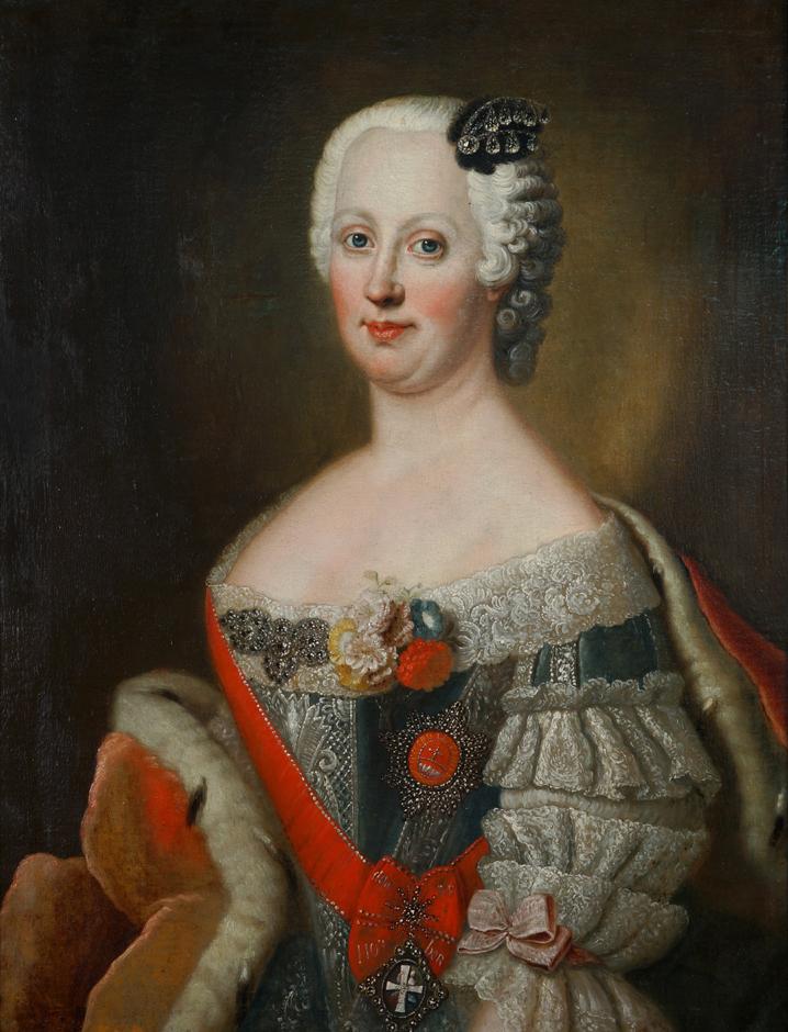 Portrait of Johanna Elisabeth of Holstein-Gottorp