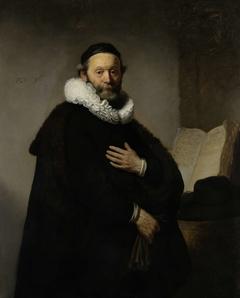 Portrait of Johannes Wtenbogaert