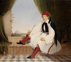 Portrait of John B. Carmac, in Greek Evzone Costume