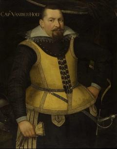 Portrait of Karel van der Hoeven, Sergeant-Major