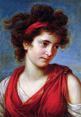 Portrait of Marguerite Porporati - 1792