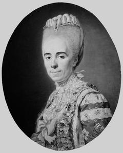 Portrait of Mme Antoinette-Louise Issard-Lacour, married to Ch. A. Bourlet de Vauxelles