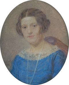 Portrait of mrs. Ležovičovej