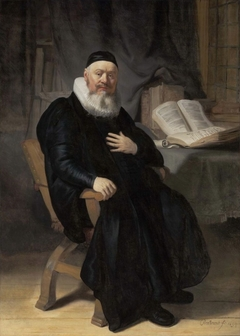 Portrait of Reverend Johannes Elison