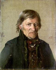 Portrait of Sheriff Hans Anfinsen from Tinn