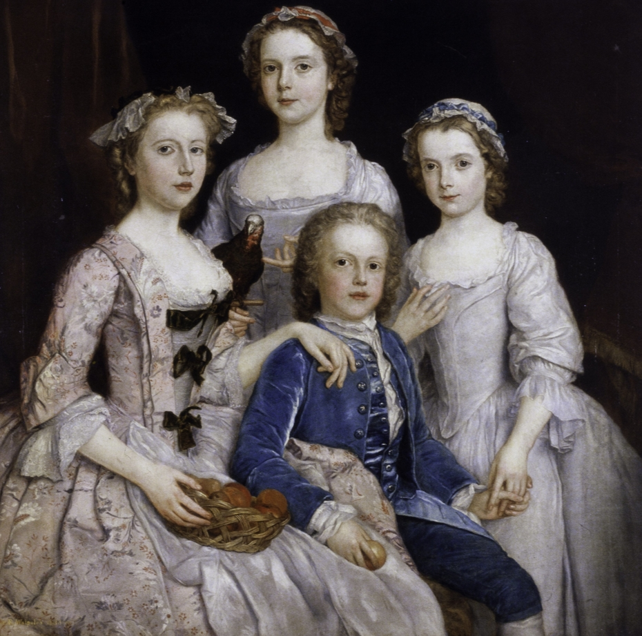 Portrait of Sir Edward Walpole's Children