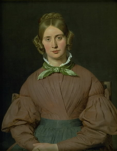 Portrait of Susanne Cecilie Købke, née Købke, the Artist´s Wife