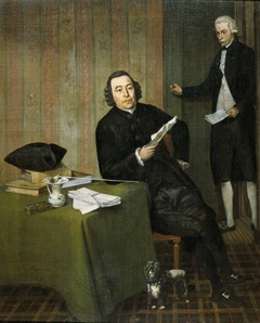 Portrait of the Haarlem Notary Wernerus Köhne with his Clerk Jan Bosch