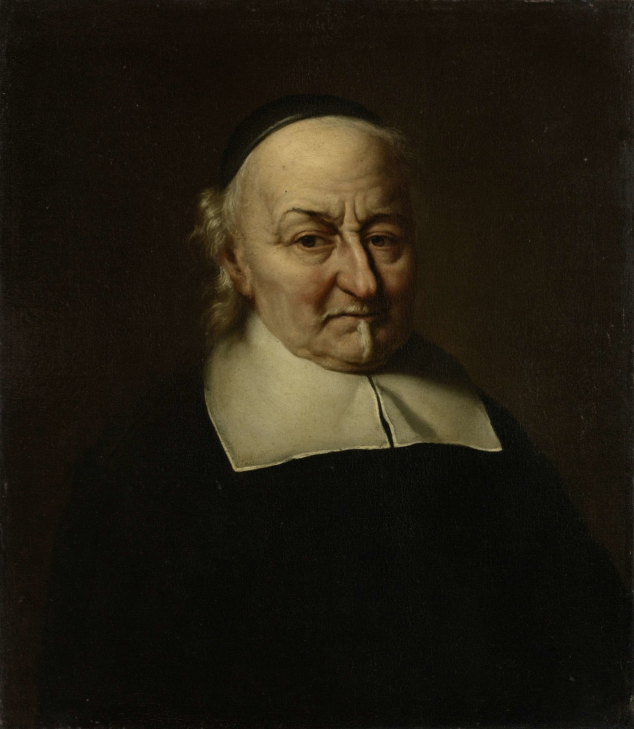 Portrait of the Poet Joost van den Vondel