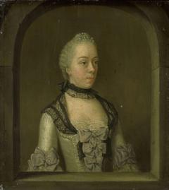 Portrait of Wilhelmina Hillegonda Schuyt, Wife of Joachim Rendorp