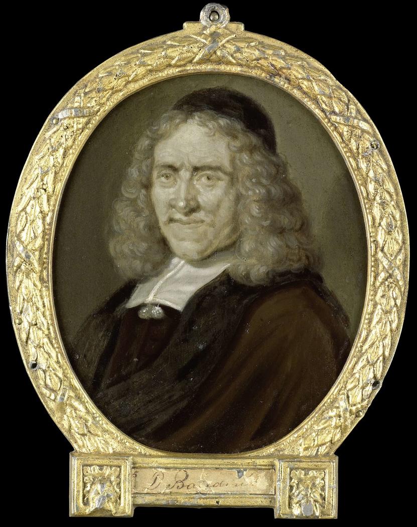 Portrait of Willem Jacobsz van Heemskerck, Poet and Engraver on Glass